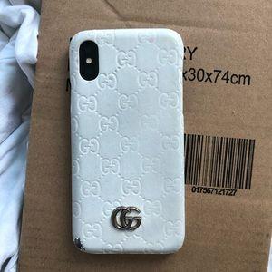 Gucci iPhone X case